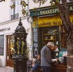 The Latin Quarter / The Latin Quarter is all about: Bookstores like Shakespeare & Co., the grand Sorbonne university, the gorgeous Luxumbourg garden, cheap eateries and so much more!