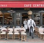 The Café Lifestyle in Paris / Classic rattan Parisian café chairs, huge terraces, and tiny espressos abound. There's nothing like spending an afternoon people-watching at a Paris café.