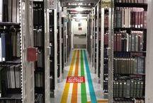"Library ""stuff"""