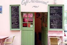 Montmartre / Discover the magic and history of Montmartre while strolling along the cobblestone streets. Old cabarets, artists on Place du Tertre, the bright white Sacre Coeur church...