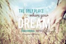 Pin Your Dreams / This is a virtual vision board of women's dreams. The purpose of this board is to provide an opportunity for women to share their dreams and to connect, collaborate and create.  What is/are the dream(s) on your heart? Pin an image of your dream and tell us about your dream. No dream is too big or too crazy. God can do immeasurably more than we can ask or imagine!   If you would like to pin to the board, follow the board and we will add you. We will add those who are already following the board. / by She Aspires