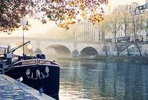 Autumn in Paris / Crunching through the leaves in the Tuileries, the colors of autumn along the Seine, window shopping for the latest fall fashions and warming up with hot cocoa.