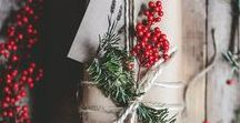 simple gift wrapping / Creative ways to add special touches to gifts and presents. Using simple natural ideas to decorate and dress-up gifts. From ribbons, to handmade tags, from sprigs of greenery to homemade decorations. Get creative and make something special.