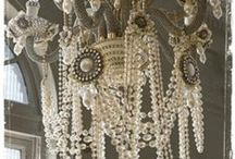 Chandelliers...