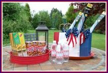 4th of July Party Ideas / Lots of ideas to help plan a 4th of July party. Food, decorations, activities and more to make an Independence Day party special!