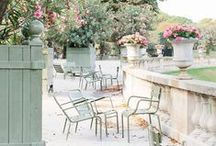 Paris Parks and Gardens / Paris has so many green spaces: the Tuileries, Jardin du Luxembourg, Parc Monceau and Parc des Buttes Chaumont, just to name a few. This board is all about the flowers and the French landscape design!