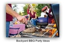 Barbecue Ideas / Food, decorations, activities and more to inspire your backyard barbecue party planning.