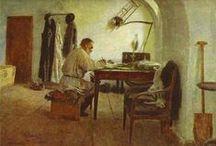 A glimpse | Ilya Repin