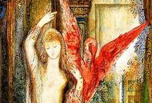 A glimpse | Gustave Moreau (1826-1898)