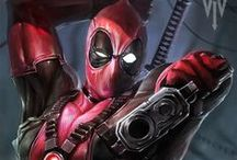 Deadpool 1. / First off, much love to all pinners and hearters. Remember: For us to keep a low pin number on any board, just by hearting it, will keep it forever 4U. Enjoy! / by HERO WORLD!