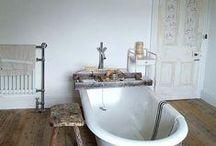 simple bathrooms / inspiring and clam bathrooms