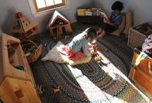 play room / ideas and inspiration for a kids play room