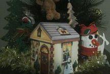 Notre boîte de l'avent / Une surprise chaque jour, symboles de Noël et de l'hiver,  bricolages du temps des fêtes.