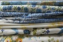 vintage fabric / lots of lovely vintage fabric