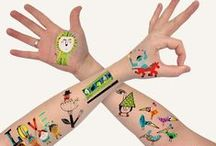 Tattoo - Calcamonia niños