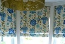 Bespoke Blinds and Curtains / Bespoke handmade blinds and curtains are one of our most popular products. Choose from hundreds of fabrics available to create your perfect window dressing.