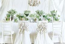 Reception | Wedding Reception / wedding chairs, wedding signs, wedding table decor, wedding signs, table decoration