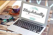 BlogActually / Aide à la creation et à l'optimisation de son blog