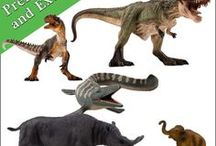 "Mojo Fun Models / A board dedicated to the Mojo Fun ""Prehistoric & Extinct"" model range."