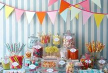 Graduation Party:  Food & Drink Ideas / Every great party has something to satisfy your hunger & quench your thirst -- get some ideas of fun food you can serve at your grad party!
