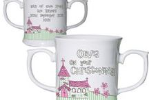 Personalised Mugs / These mugs can be personalised for your little ones.