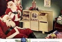 vintage Christmas Advertising-Appliances, TV's & Radios / by Fool For My Dog