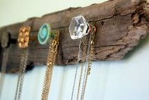 Creative ways to store your jewelry... / ...other than in a boring old jewelry box.