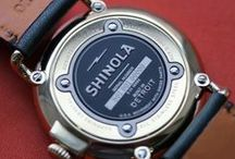 Shinola Watches - Made in Detroit / Shinola Watches