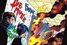 RAIN Comic Book Art References