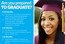 Tips for Senior Year / Tips for parents, seniors and mentors to get through senior year successfully and safely!