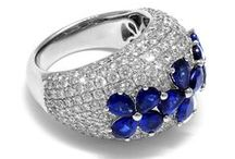 September Sapphire / Beautiful Sapphire pieces to celebrate any September birthday.