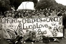 Lucy's Love Bus Events! / Events past, present, and future at Lucy's Love Bus which YOU can support and enjoy to help pediatric cancer patients receive free integrative therapies.