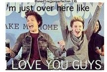 One direction!!! / Liam Payne, Harry Styles, Niall Horan,  Louis Tomlinson, Zayn Malik! / by Alitza Ray