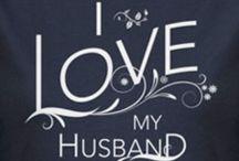 Love of my life. My husband.