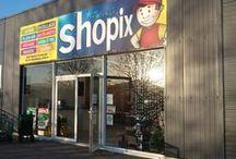 Les magasins Shopix / Poussez la porte de nos enseignes pour rencontrer nos équipes de vendeurs professionnels dynamiques et découvrir des produits exclusifs.