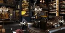 Man Cave: Luxury / Masculine with a luxurious touch. Beautiful furniture, high-end home decor, unique lighting, exotic scents...