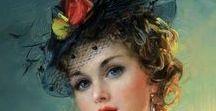 Разумов  Константин -  певец женской грации и красоты