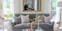 Luxury Living Rooms / Luxury living room decor and design ideas www.oojra.com
