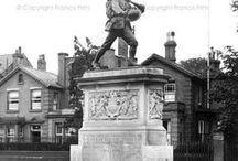 """Lest We Forget / A special selection of photographs from our Archive of our War Memorials and other poignant photographs that connect us with those who fought and perished in the world wars that have shaped the world we live in today, taken by Francis Frith photographers, or otherwise.  """"They shall grow not old, as we that are left grow old: Age shall not weary them, nor the years condemn. At the going down of the sun and in the morning, We will remember them.""""- Laurence Binyon, For The Fallen"""