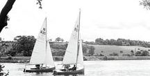 Sailing / Recreational boating and some rather more serious yachts feature in this nostalgic photo board all about sailing. Photographs part of The Francis Frith Collection, or otherwise.