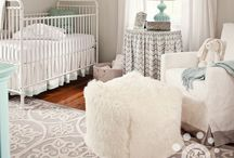 nursery / clearly i am torn between the 'tan and dark wood' or the 'grey and white wood' look ....ahhhh / by Krystal Broca