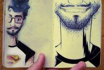 Sketchbooks/ Cuaderno de dibujo