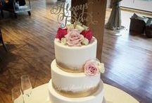 Elegant Wedding Cake Inspiration / These are Elysia Root Cake original cake designs: elegant and beautiful wedding cakes!