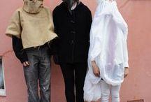 Marionetas, máscaras...