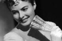 Ingrid Bergman / Ingrid Bergman- Born: August 29, 1915, Stockholm, Sweden Died: August 29, 1982, Chelsea, London, United Kingdom / by Elizabeth Ayala