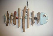 Brico - Avec du bois flotté / Créations en bois flotté