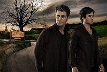 The vampire dairies / American  tv show  abouht  vampiers