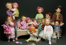 Dolls / Little dollie daydreams  / by Elaine Hepper