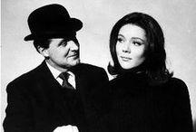 The Avengers  Diana Rigg Patrick McNee / by Elizabeth Ayala
