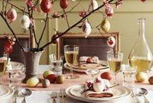Pasqua a tavola / Idee per apparecchiare la tavola nei giorni di festa. #apparecchiare #pasqua
